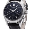 Armand Nicolet M02 Chronograph Steel Black Leather