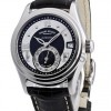 Armand Nicolet M03 Small Seconds Date Steel Black