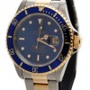 Rolex Submariner Date Oyster Perpetual Blue Dial 18KA Ye