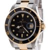 Rolex Submariner Oyster Perpetual 2Tone 18k Gold  Steel