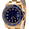 Rolex Submariner Date Yellow Gold Blue Dial