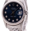 Rolex Datejust Jubilee Band Blue Diamond Dial  Fluted Be