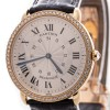 Cartier Ronde Louis 18K Gold Diamonds Bezel